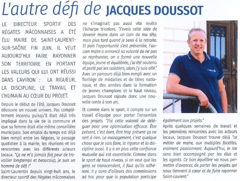 L'autre défi de Jacques Doussot