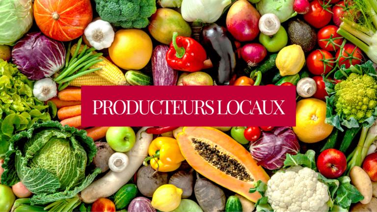 Recherche de producteurs locaux !